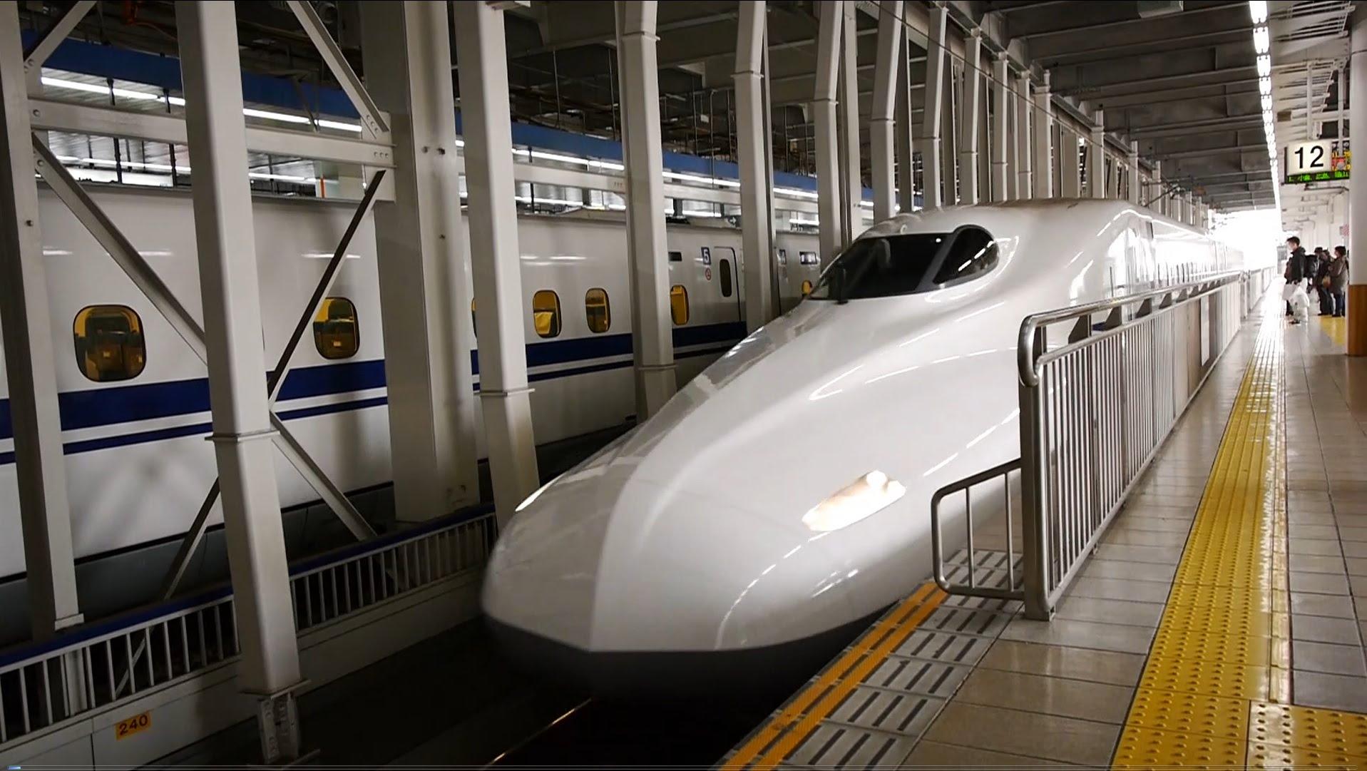 【60fps】東海道・山陽新幹線 のぞみ26号 超広角車窓 進行左側 博多~新大阪~東京