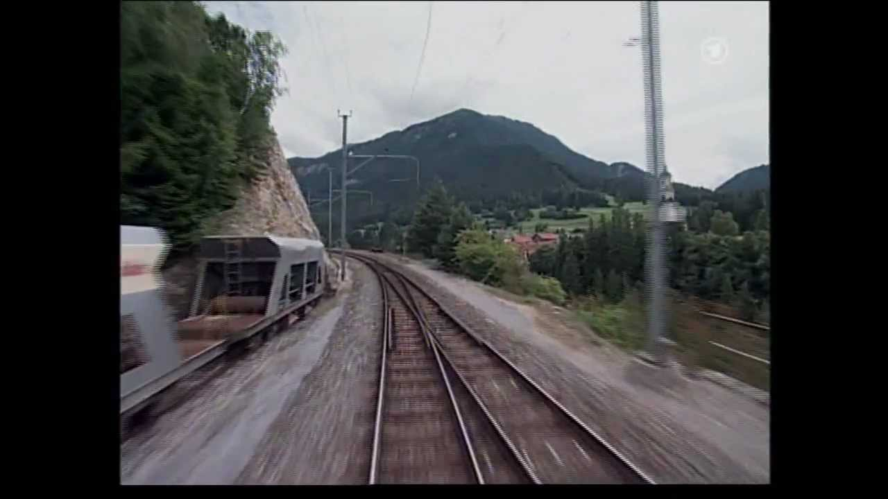 Chur - St.Moritz (Glacier-Express) : Führerstandsmitfahrt