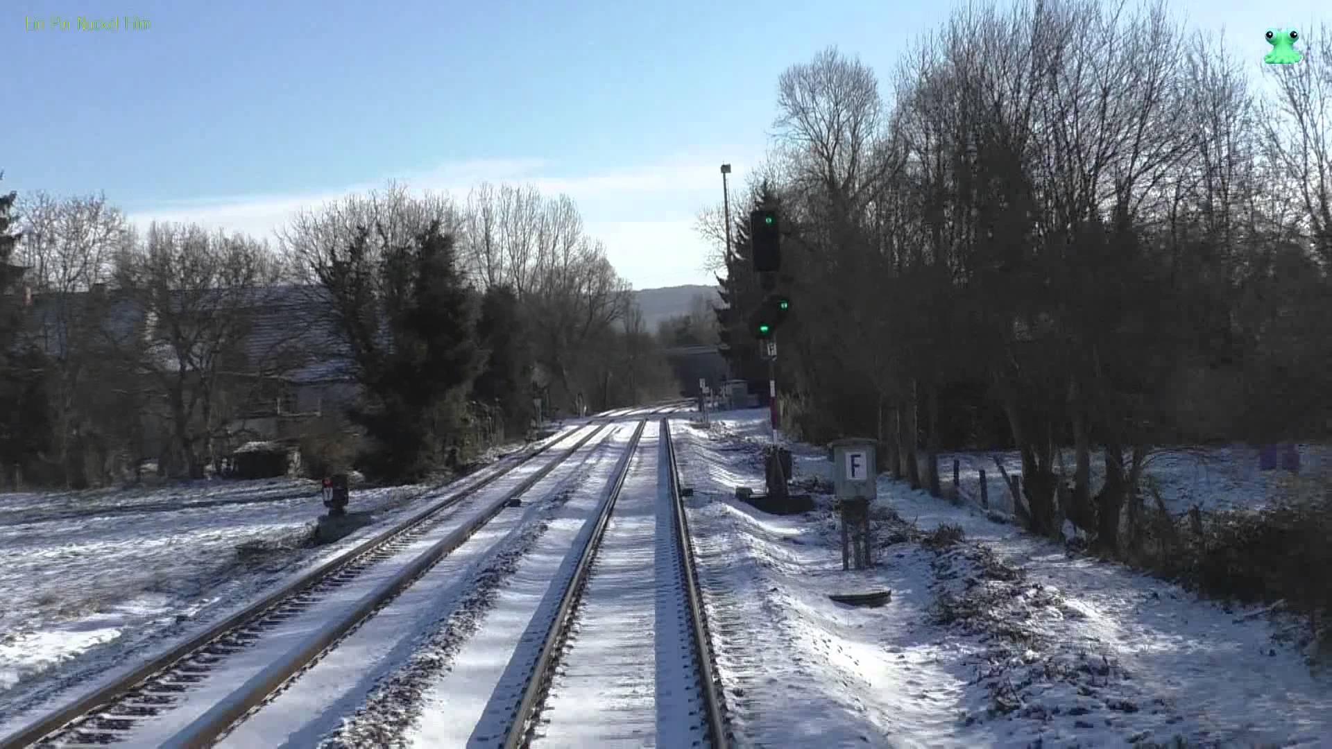 DB Bahn – Führerstandsmitfahrt Nr. 48 – Von Bad Kreuznach nach Kaiserslautern im Schnee