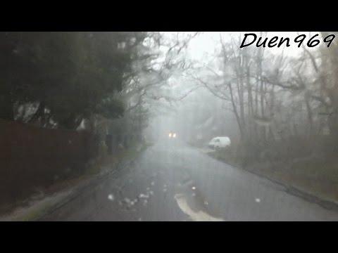 Hailstorm at England (Wokingham)