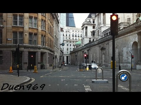London Streets (477.) – Cheapside – Moorgate – Archway – Highgate – Finchley -Whetstone