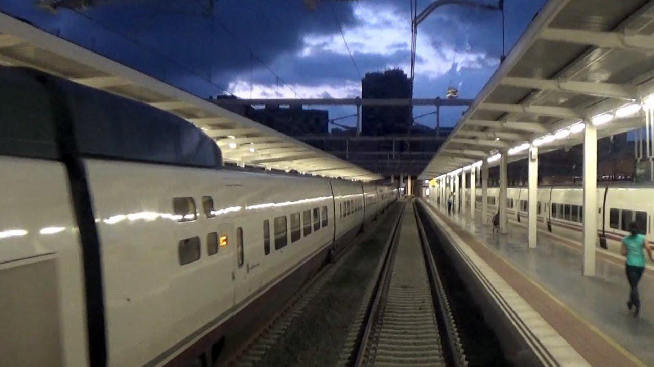 Rail View Tren de Alicante a Valencia 2014