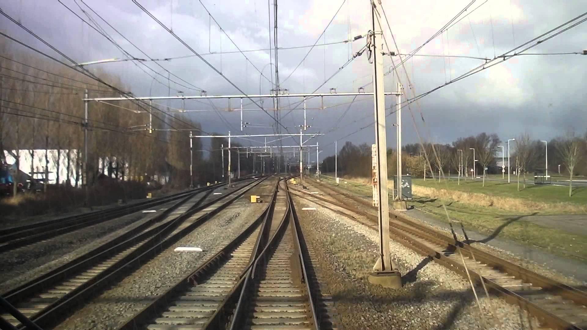 [cabinerit] A train driver's view: Hoofddorp Midden – Hoorn Kersenboogerd, SLT, 03-Feb-2015.