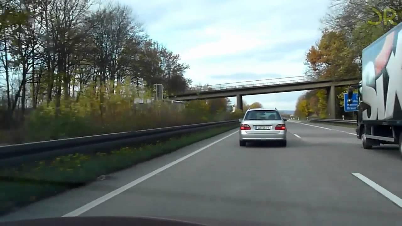 Drivers View – Autobahn von Mannheim nach Rostock in Echtzeit 6 Std.