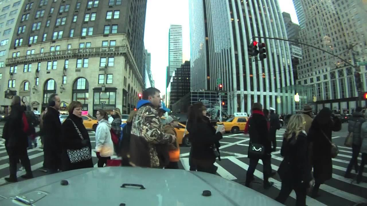 Driving Around New York City