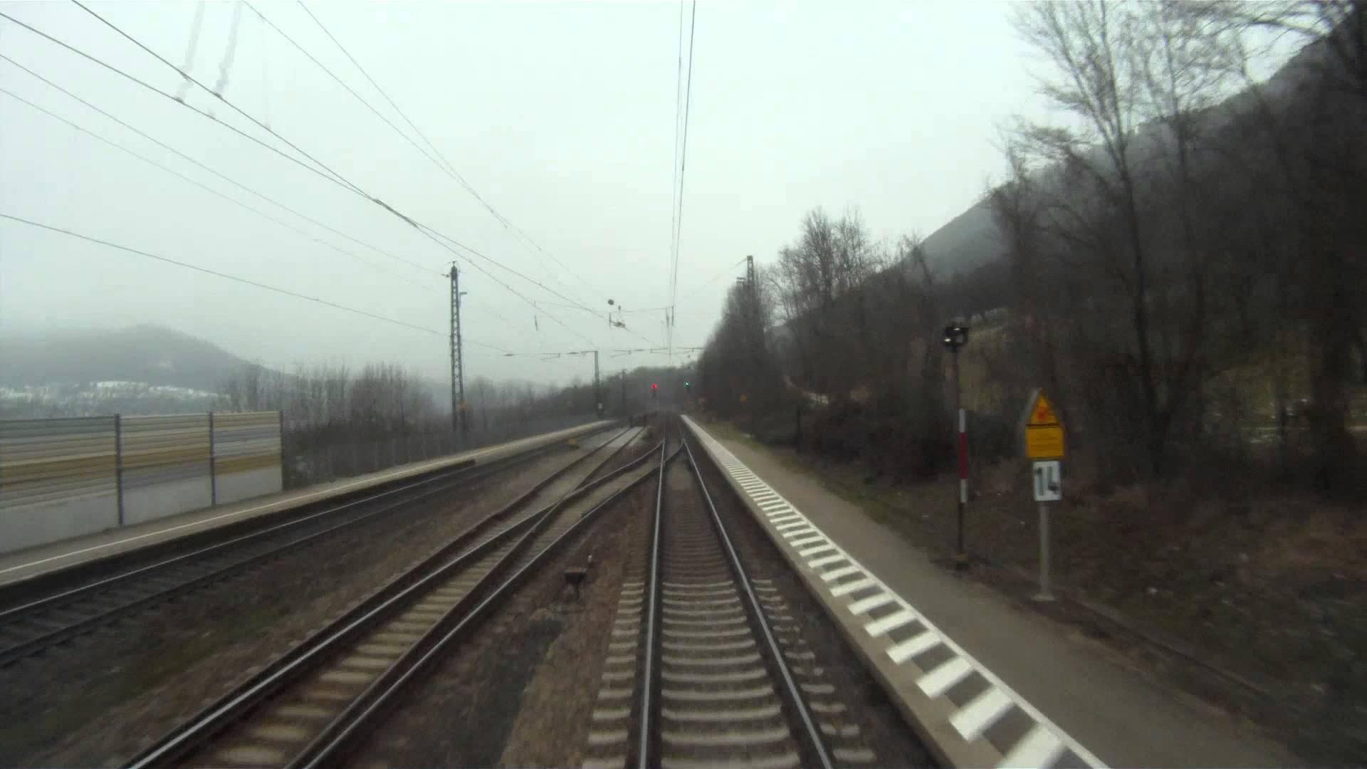 """Führerstandsmitfahrt """"Geislinger Steige"""" Ulm – Stuttgart – Kornwestheim Rbf mit BR 186"""