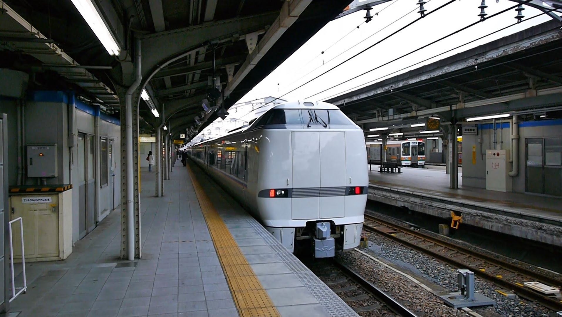 【60fps】JR西日本 特急しらさぎ3号 超広角車窓 米原より進行左側 名古屋~米原~金沢・和倉温泉