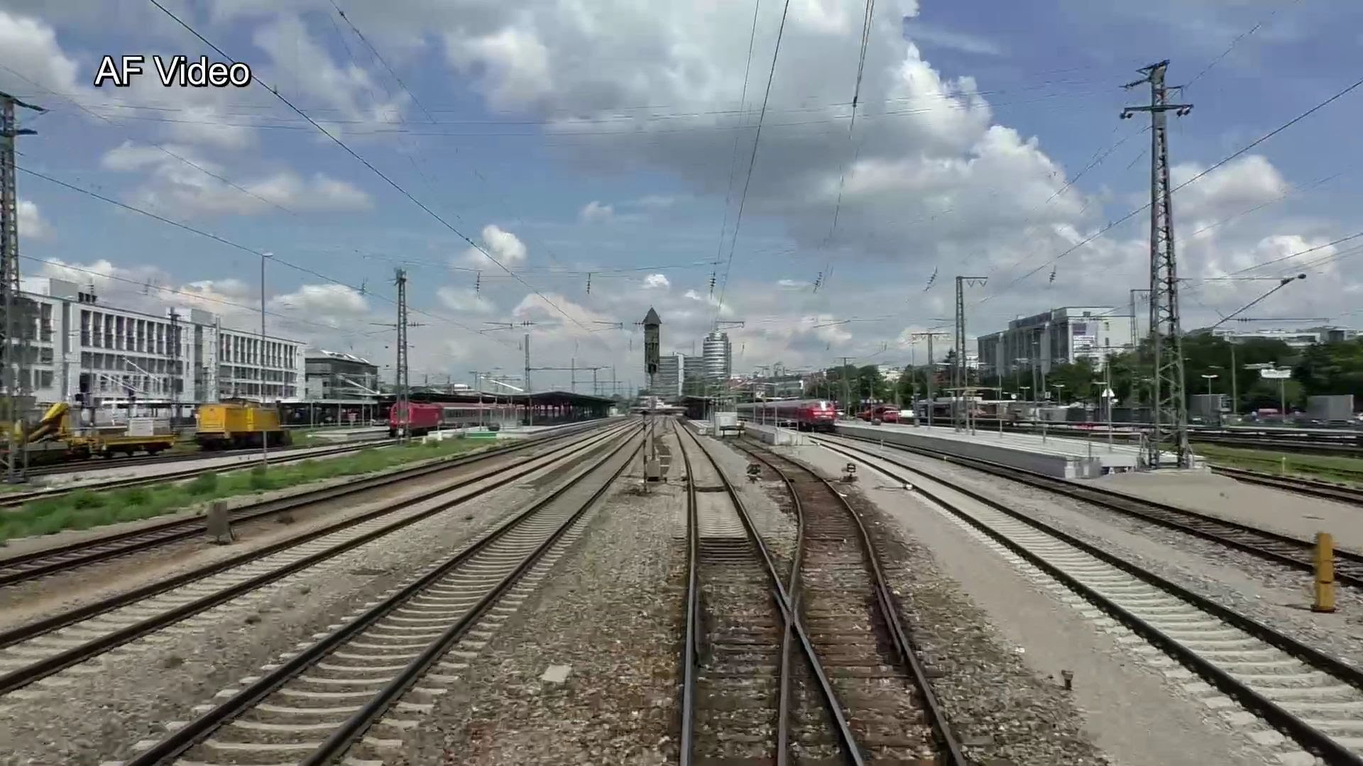 Führerstandsmitfahrt München – Mühldorf