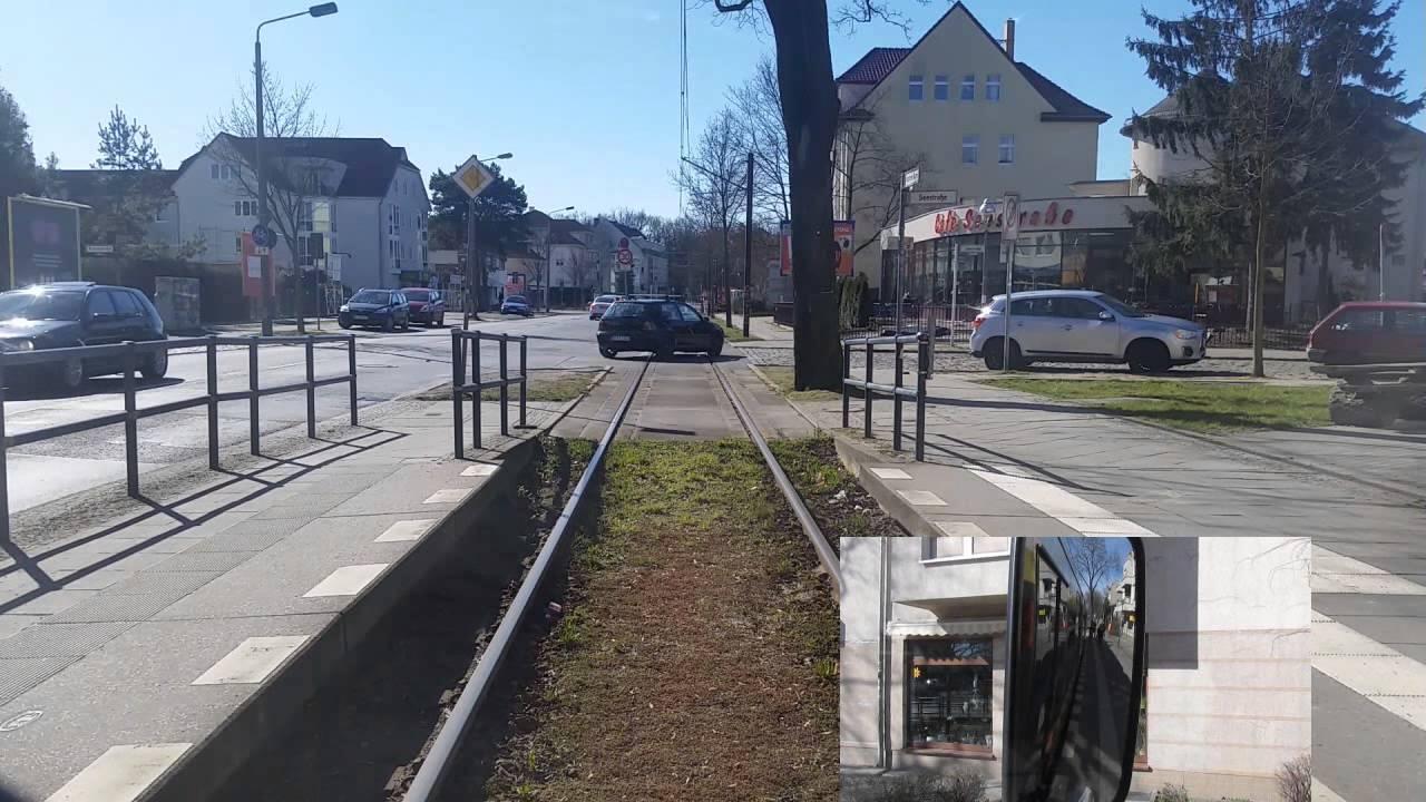 Führerstandsmitfahrt Linie 62 S Mahlsdorf-Wendenschloß GTU