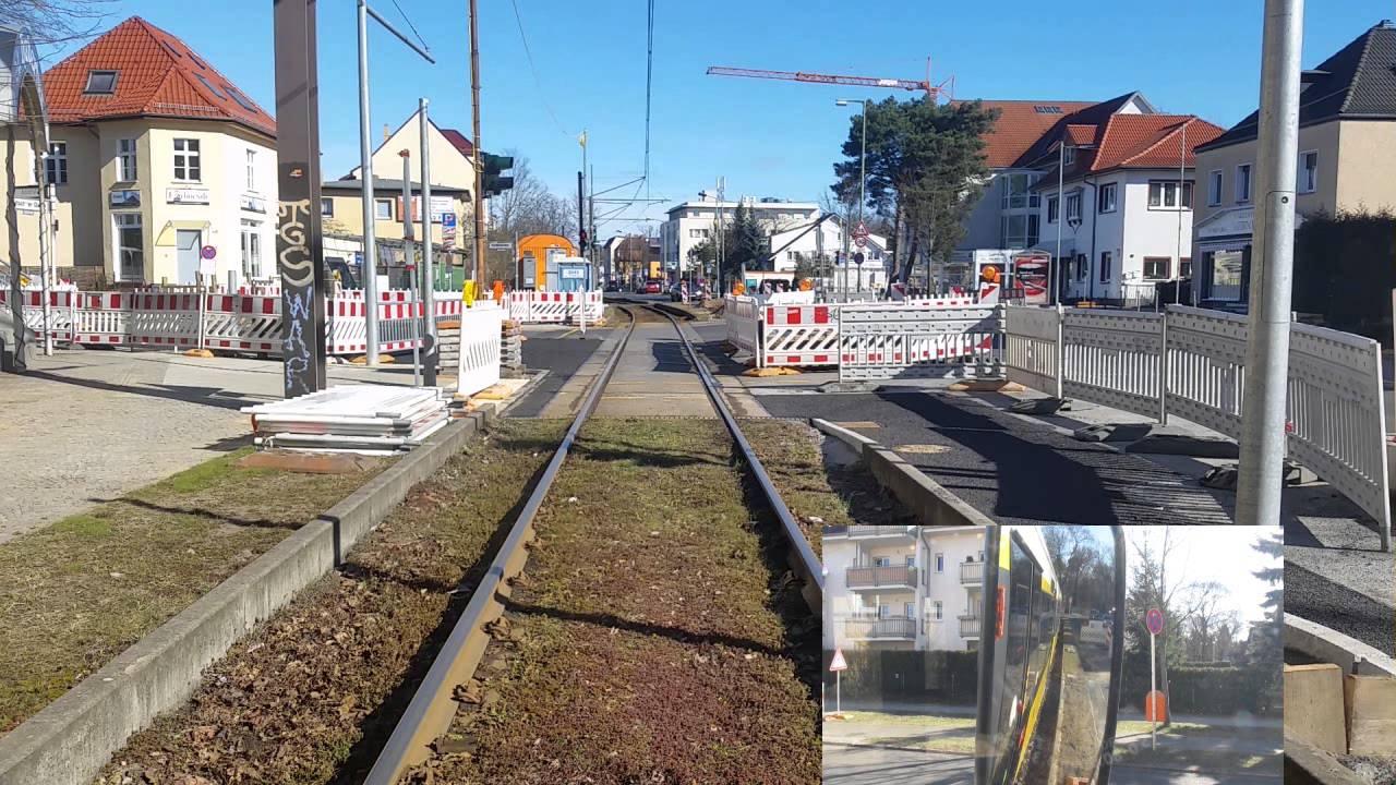 Führerstandsmitfahrt Linie 62 Wendenschloß-S Mahlsdorf GTU