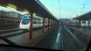 Rail View Tren Alvia 120 de Irun a Pamplona y Zaragoza 2015