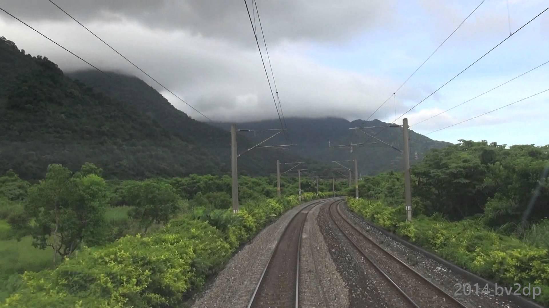 2014.7 台鐵 5401次 TEMU2000 新自強 普悠瑪號 台東 – 台北 路程景