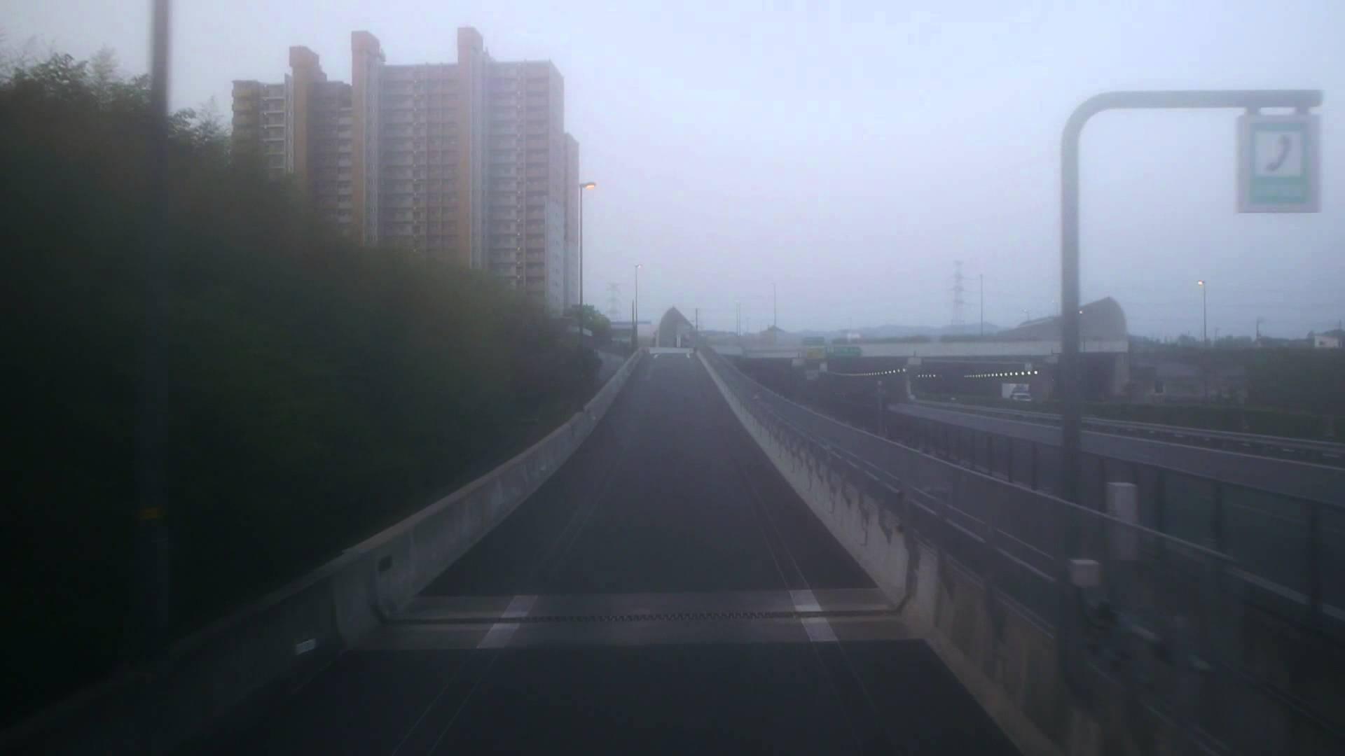 南海バス サザンクロス(ドリームなんば・堺1号 ) 前面展望 甲南パーキングエリア~高速京田辺~湊町バスターミナル(OCAT)