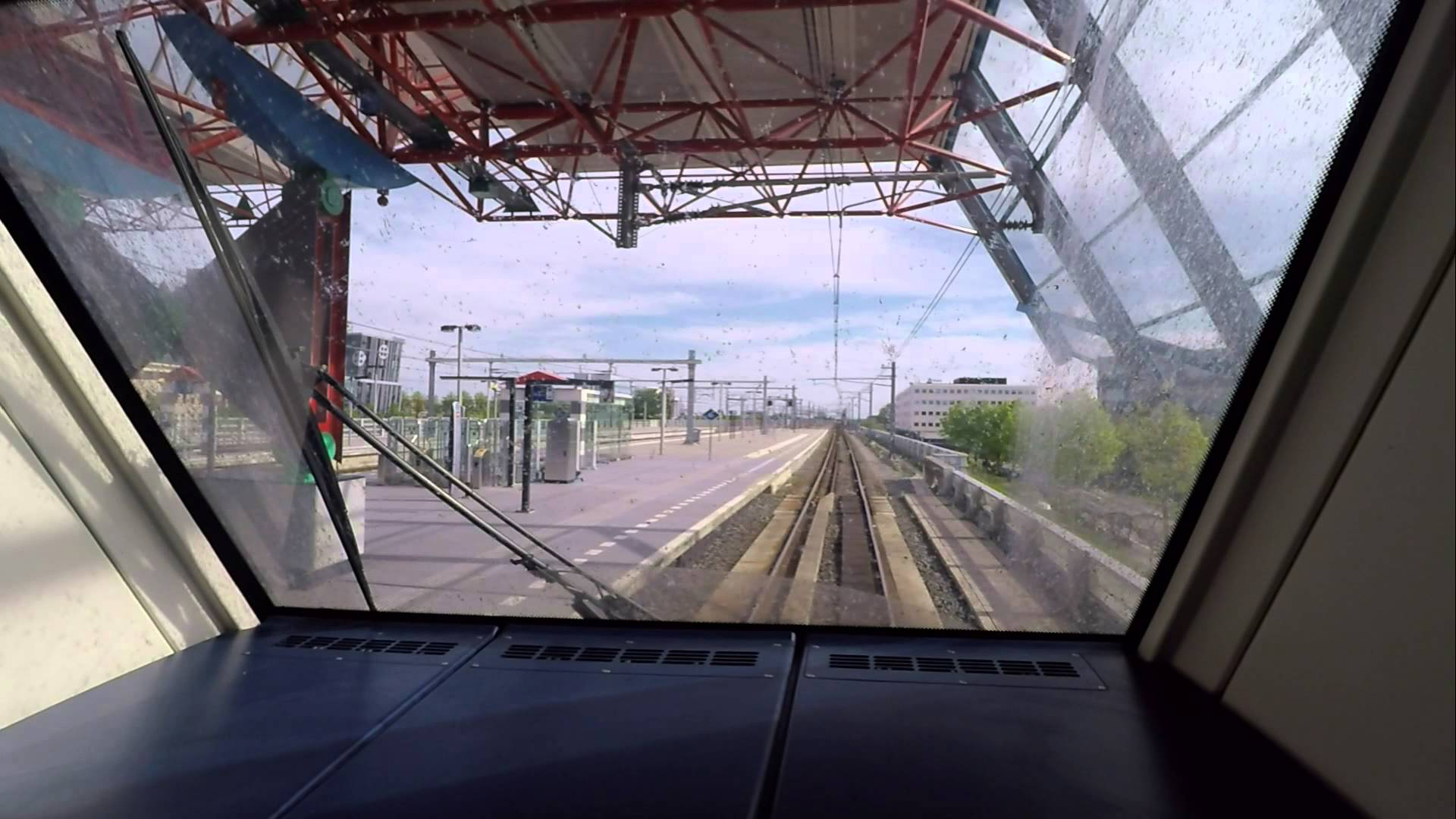 [cabinerit] A train driver's view: Kampen Zuid – Almere Buiten, SLT, 14-May-2015.