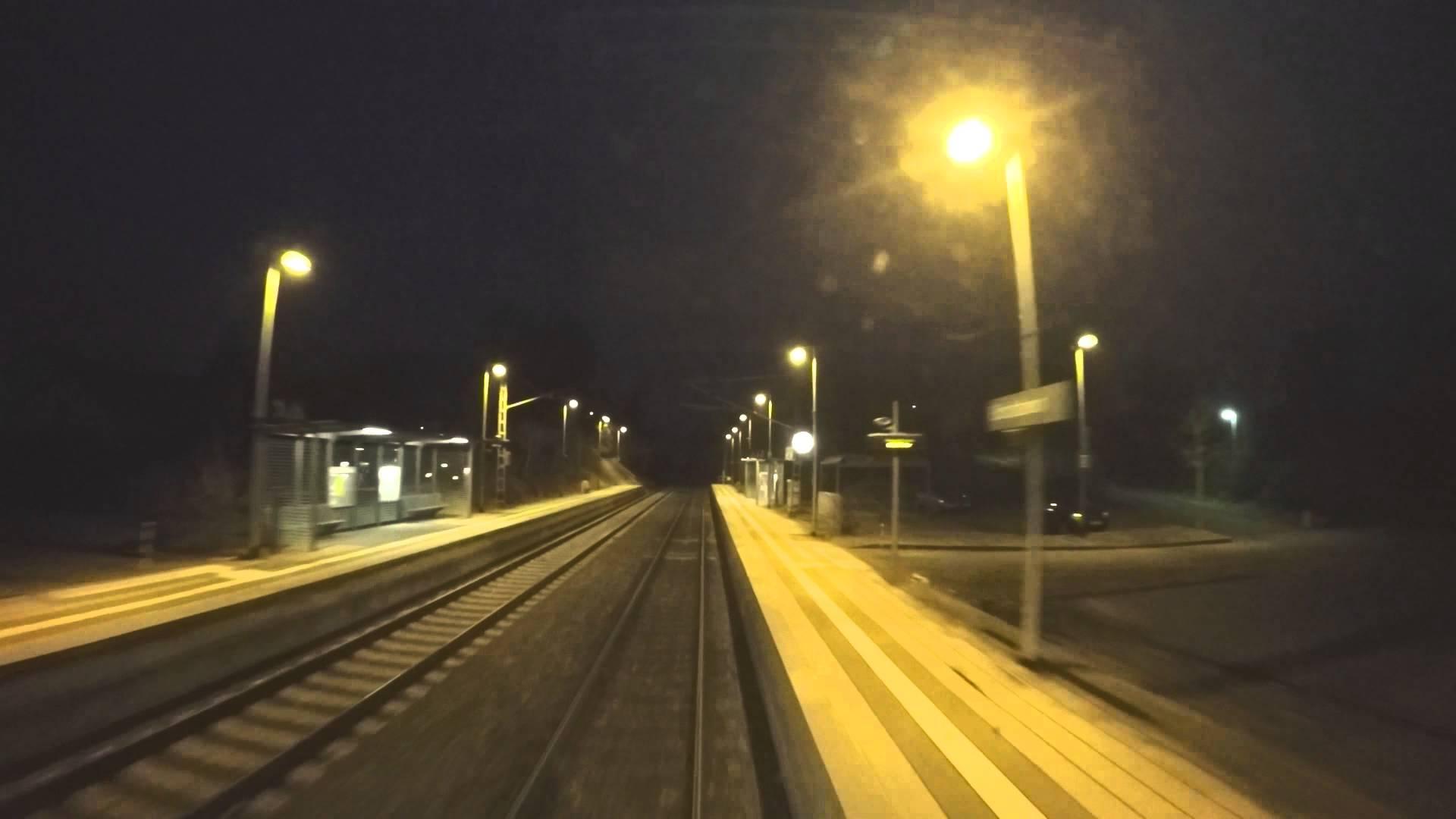 Führerstandsmitfahrt Osterburken – Mosbach