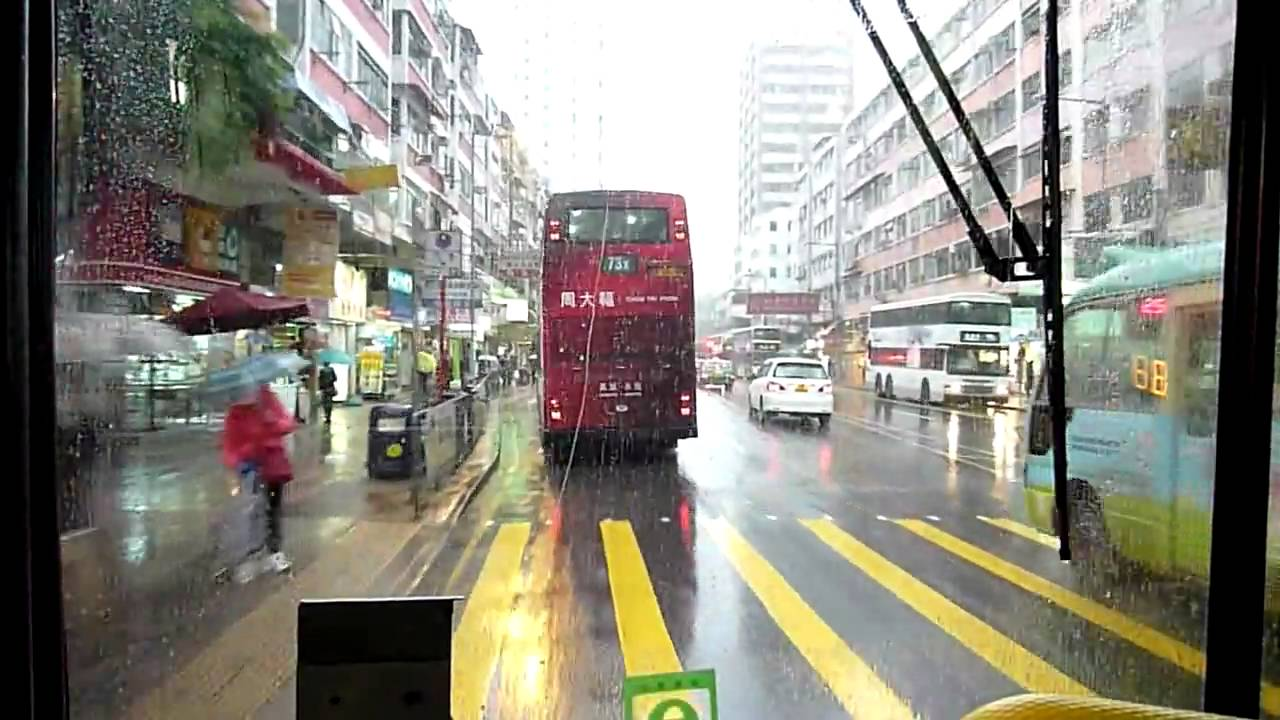 Hong Kong Bus KMB 3AV131 @ 74X 九龍巴士 Volvo Olympian 大埔中心-廣福邨