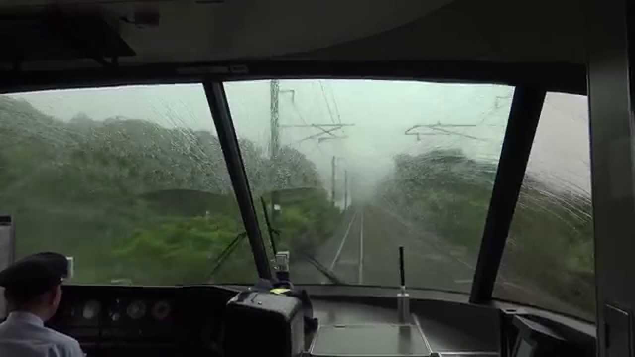 JR西日本283系(くろしお)前面展望 和歌山~周参見