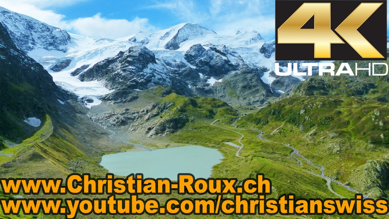 UHD/4K – Switzerland 279 (Camera on board): Sustenpass / Col du Susten (Bern to Uri) (GoPro Hero3)