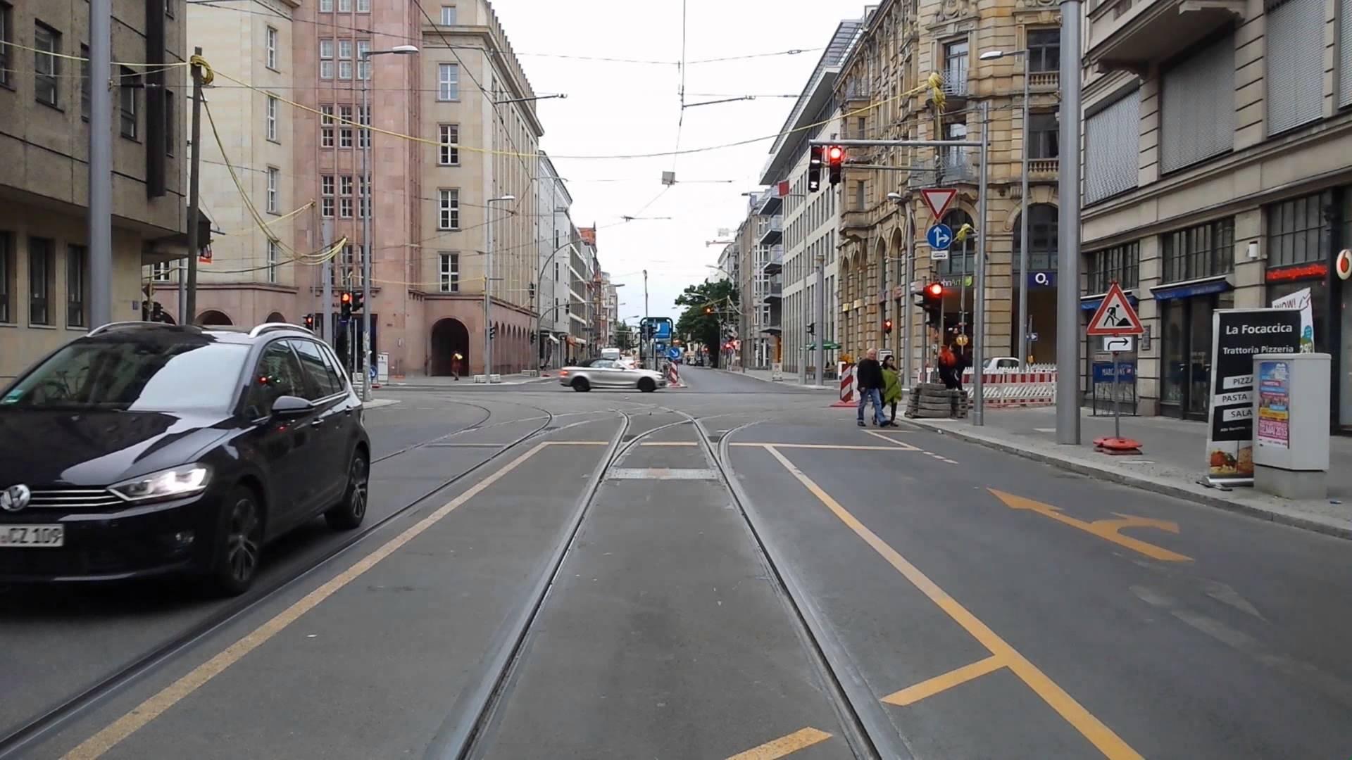 Linie M1 Hackerscher Markt zum Hauptbahnhof