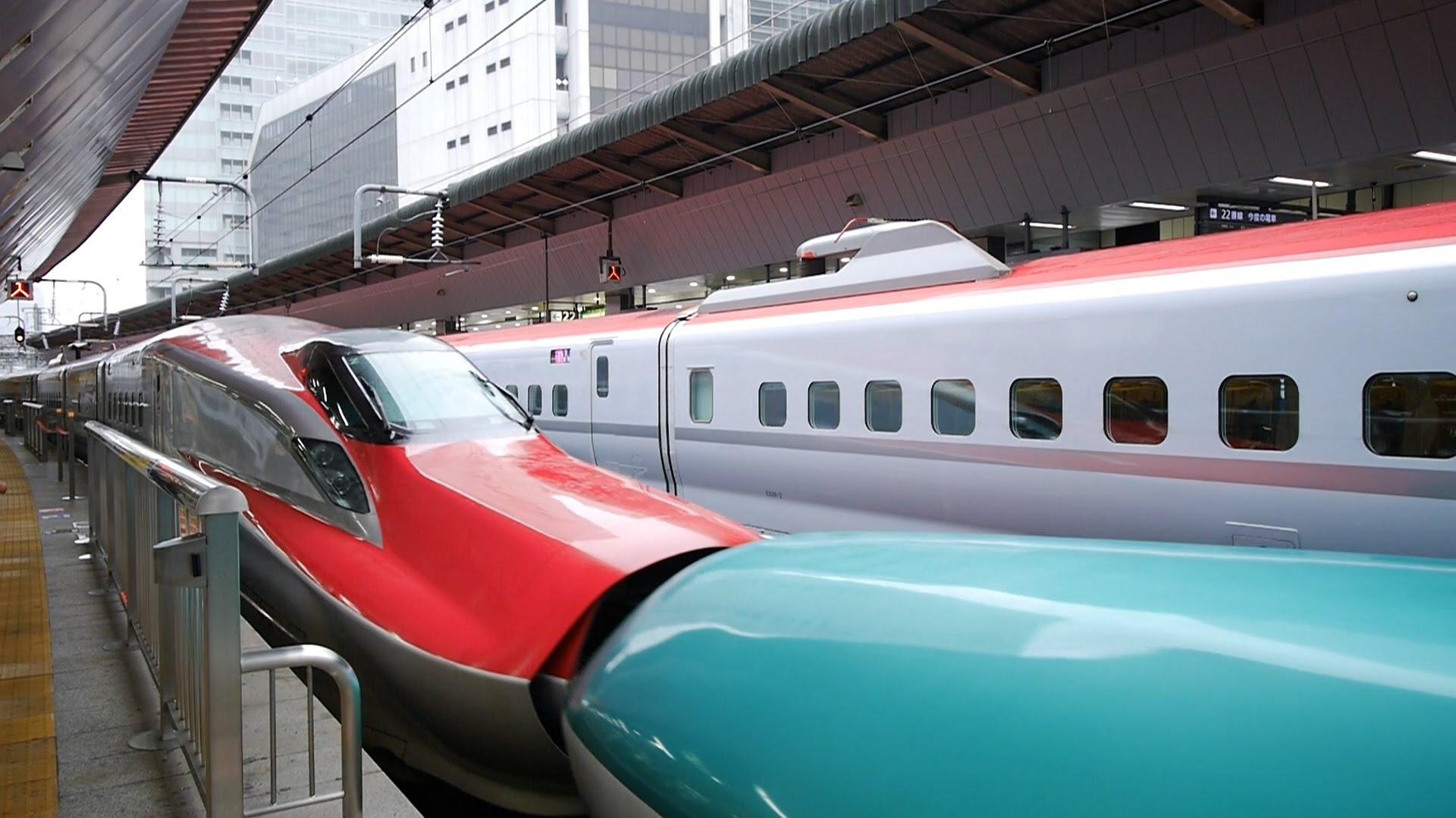 【60fps】秋田新幹線 こまち65号 超広角車窓 大曲まで進行左側 東京・上野~盛岡~秋田