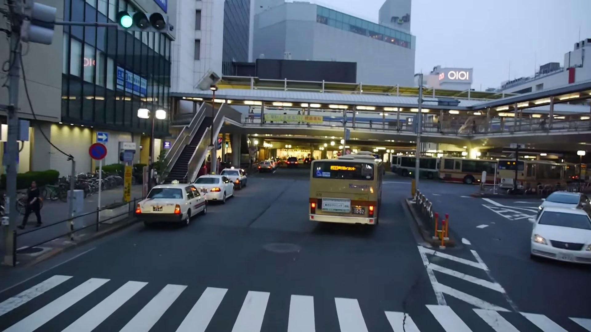【60fps】西日本JRバス 横浜昼特急大阪2号 前面展望 足柄サービスエリア~町田バスセンター