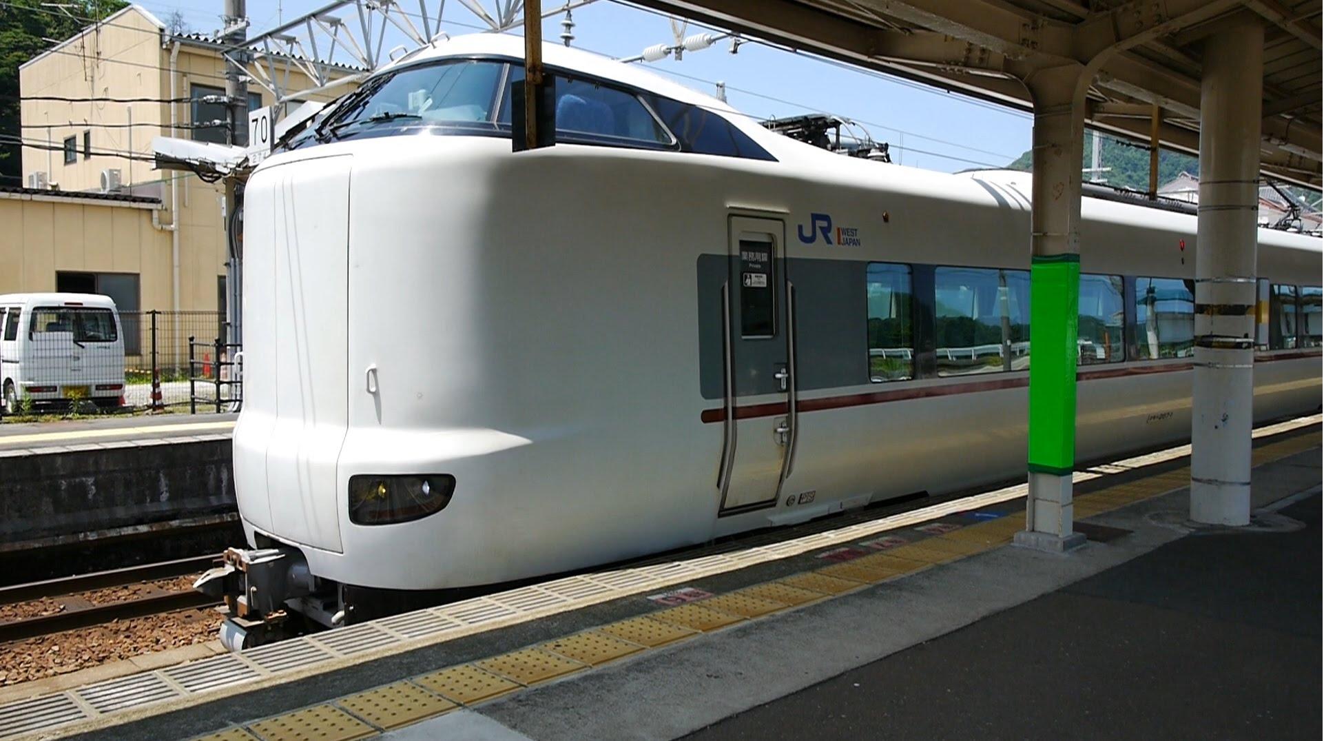 【60fps】JR西日本 特急こうのとり16号 超広角車窓 進行左側 城崎温泉~福知山~新大阪
