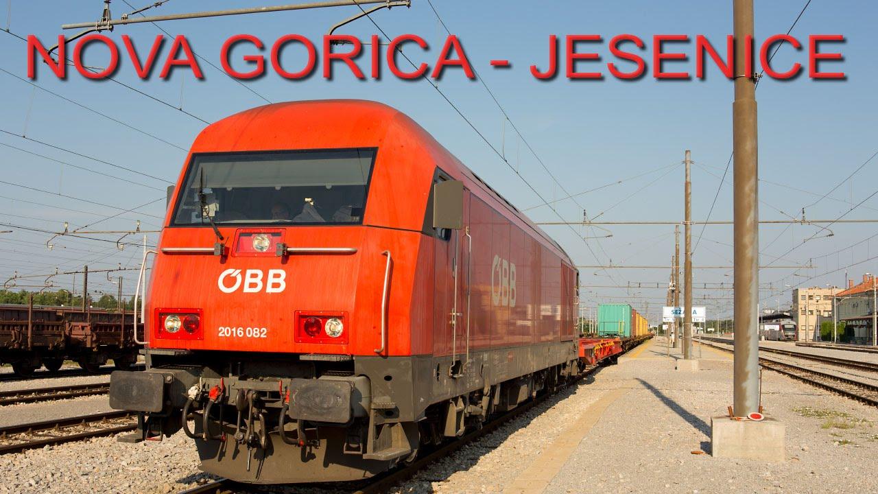 Cab ride (Führerstandsmitfahrt) Nova Gorica – Jesenice