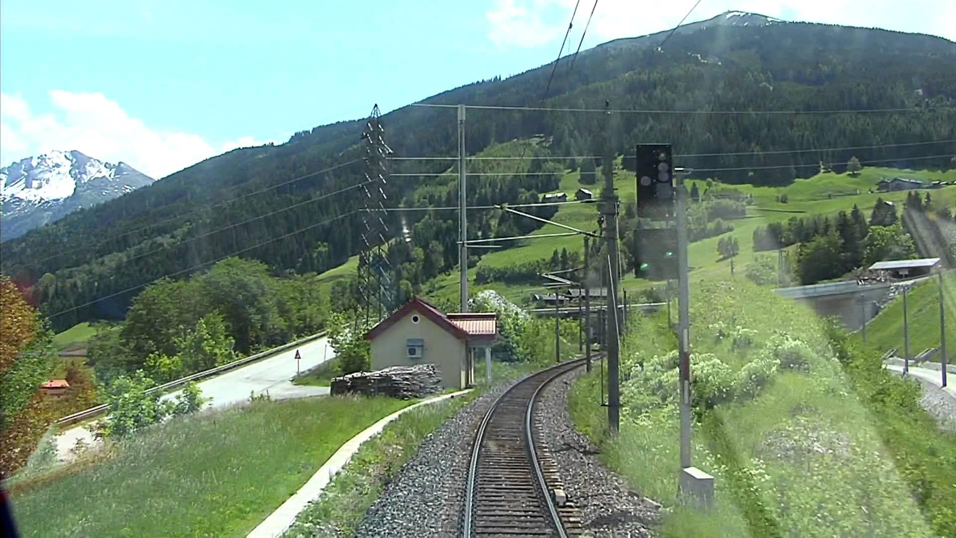 Führerstandsmitfahrt Tauernbahn Schwarzach St.Veit- Mallnitz Obervellach [HD] – Cab Ride – ÖBB 1116