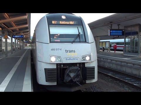 RE2 25356/25372, VLEXX-Ersatzzug von Bingen nach Koblenz