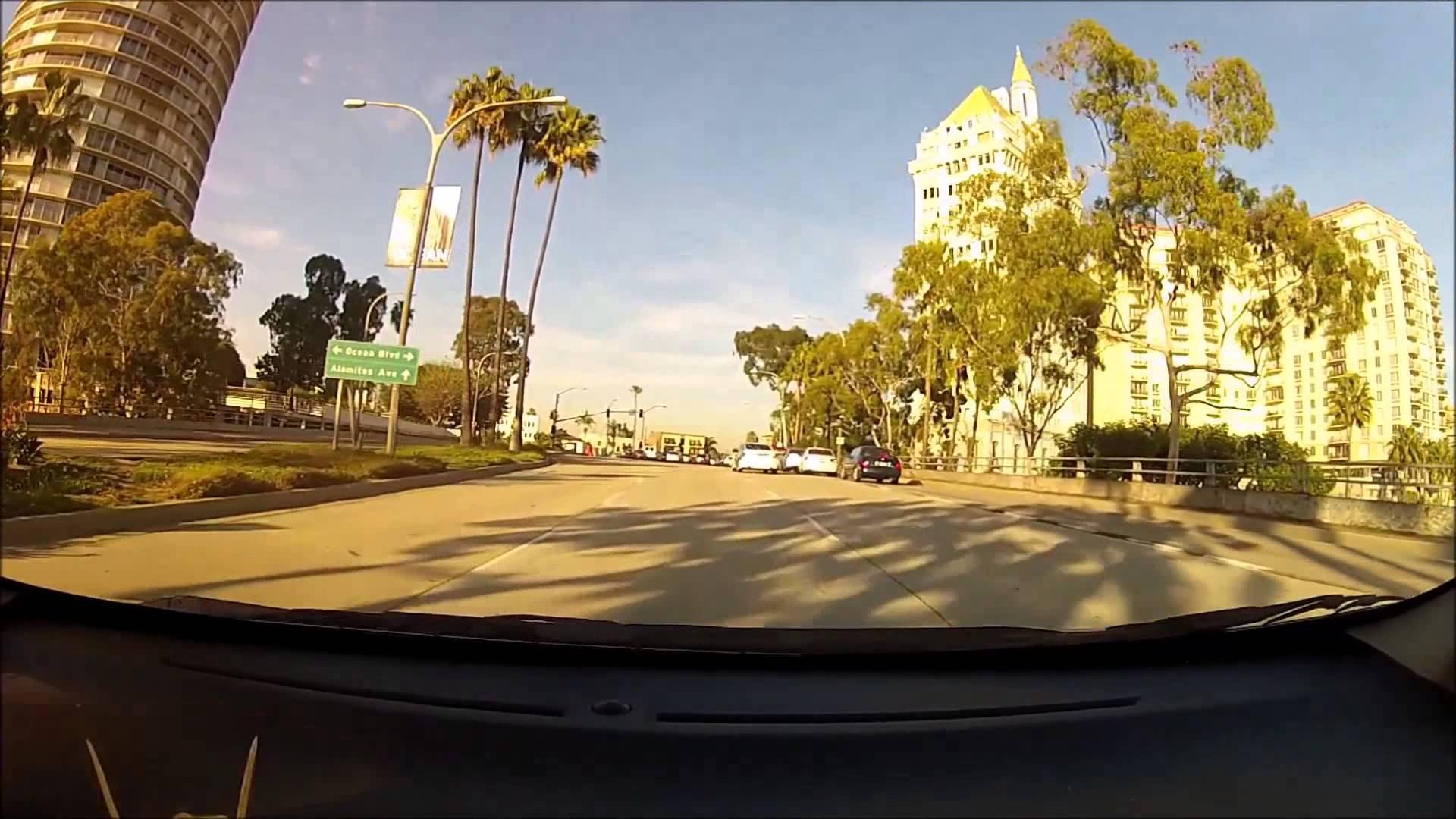 Driving Los Angeles Holly Wood Bel-Air