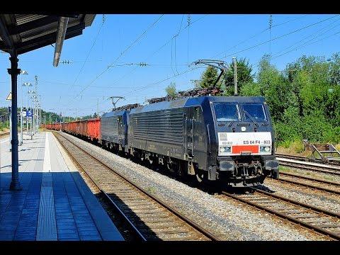 Führerstandsmitfahrt BR 189 München – Deisenhofen – Holzkirchen (Maximiliansbahn)