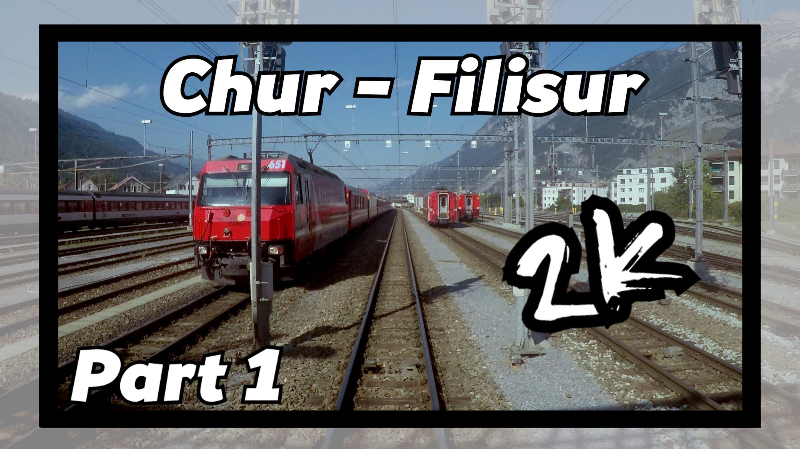 Cab ride RhB Chur – Filisur 1/8! [ALBULABAHN]