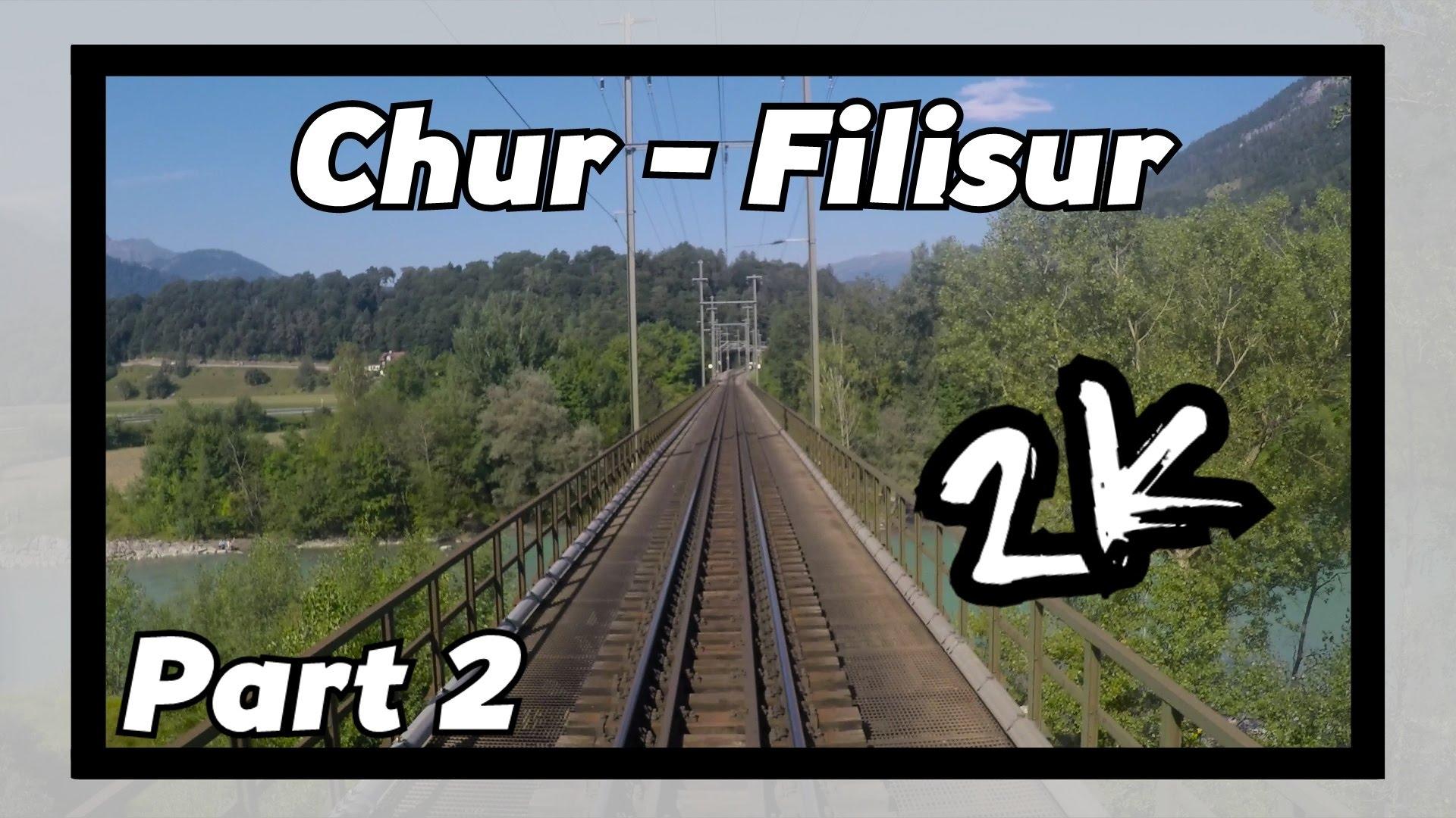 Cab ride RhB Chur – Filisur 2/8! [ALBULABAHN]