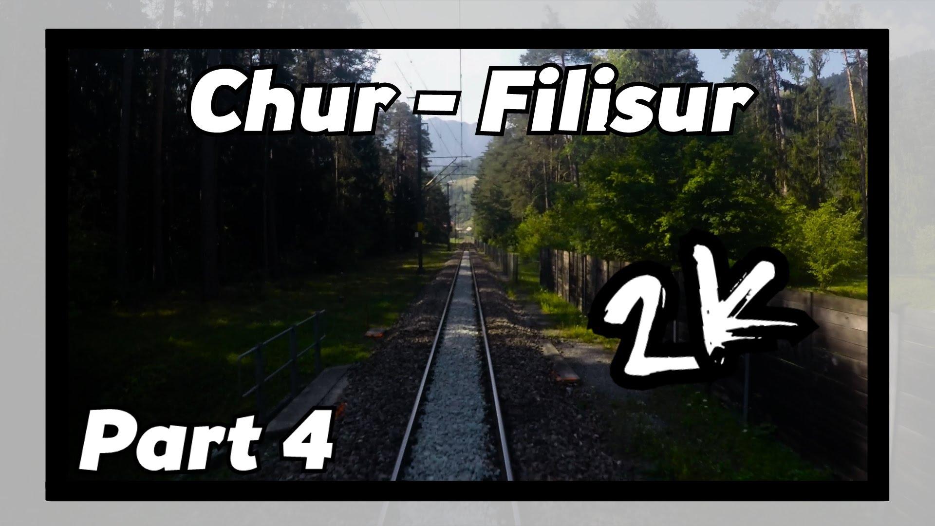 Cab ride RhB Chur – Filisur 4/8! [ALBULABAHN]
