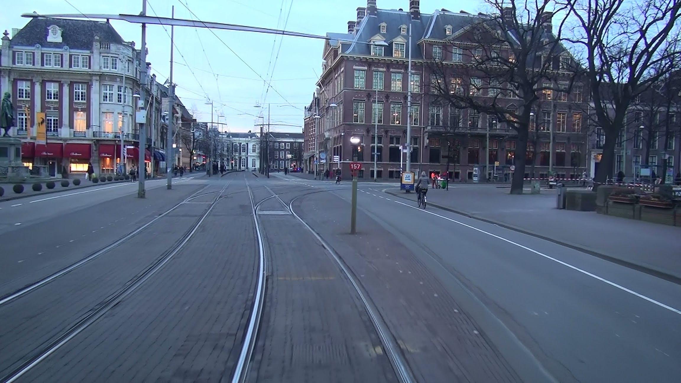 HTM tramlijn 1 Delft Tanthof – Scheveningen Noorderstrand