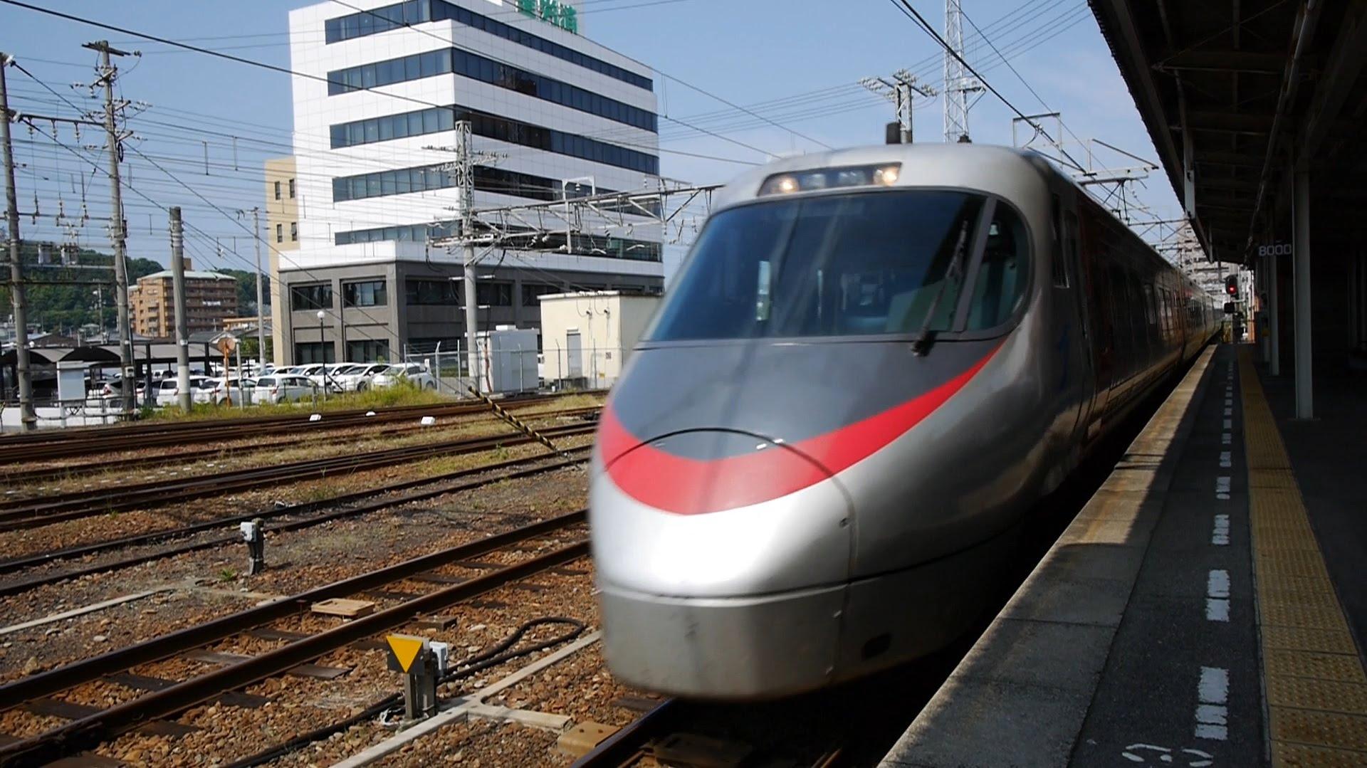 JR四国 特急いしづち18号 (8000系運行) 超広角車窓 進行左側 松山~高松