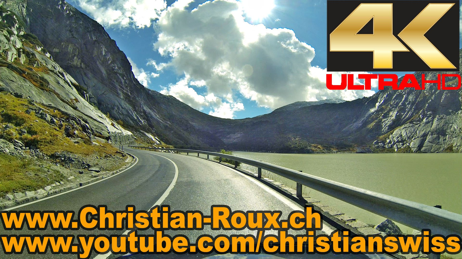 UHD – Switzerland 293 (Camera on board): Grimsel côté Nord aller-retour (Hero3)