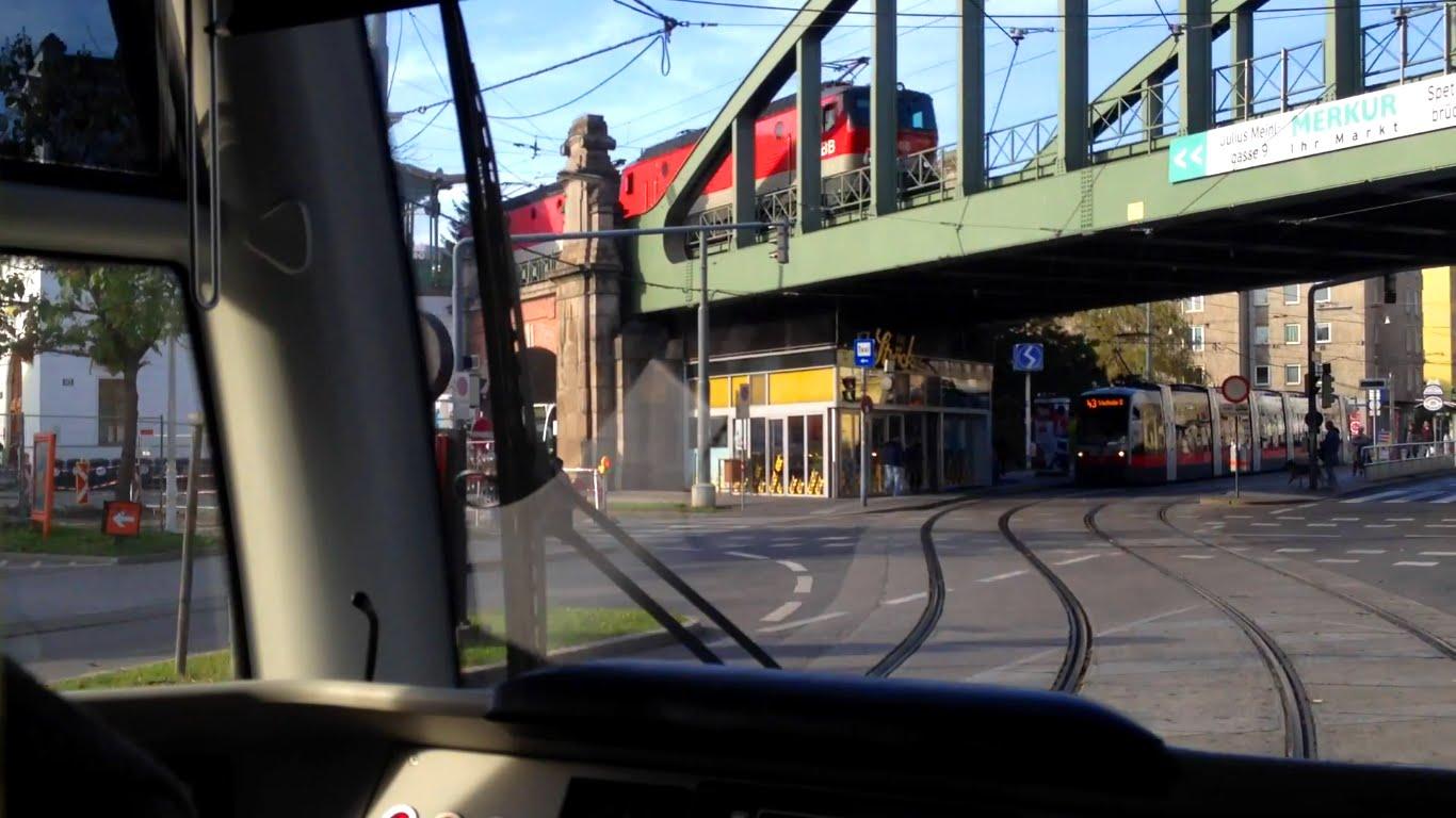 WL Wien Tram | Linie 43: Schottentor (U) – Neuwaldegg