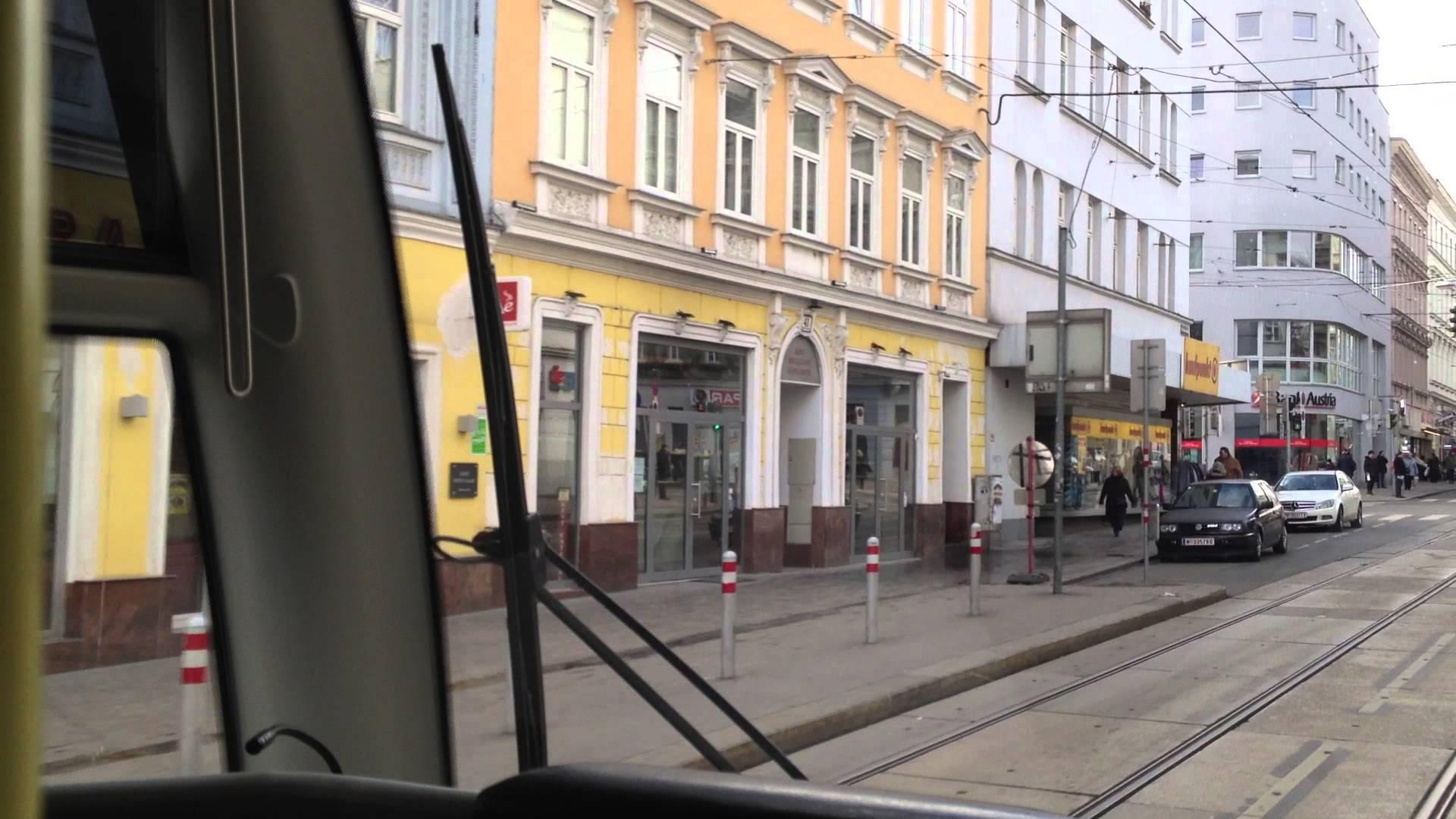 WL Wien Tram | Linie 49: Dr.-Karl-Renner-Ring – Hütteldorf, Bujattigasse