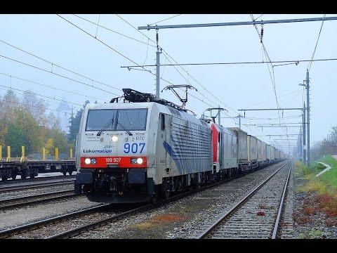 4k Führerstandsmitfahrt Ennstalbahn Bischofshofen – Selzthal mit BR 189