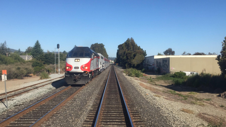Caltrain HD 60 FPS: Gallery Car 4022 Cab Ride on Baby Bullet Train 329 (Tamien – San Francisco)