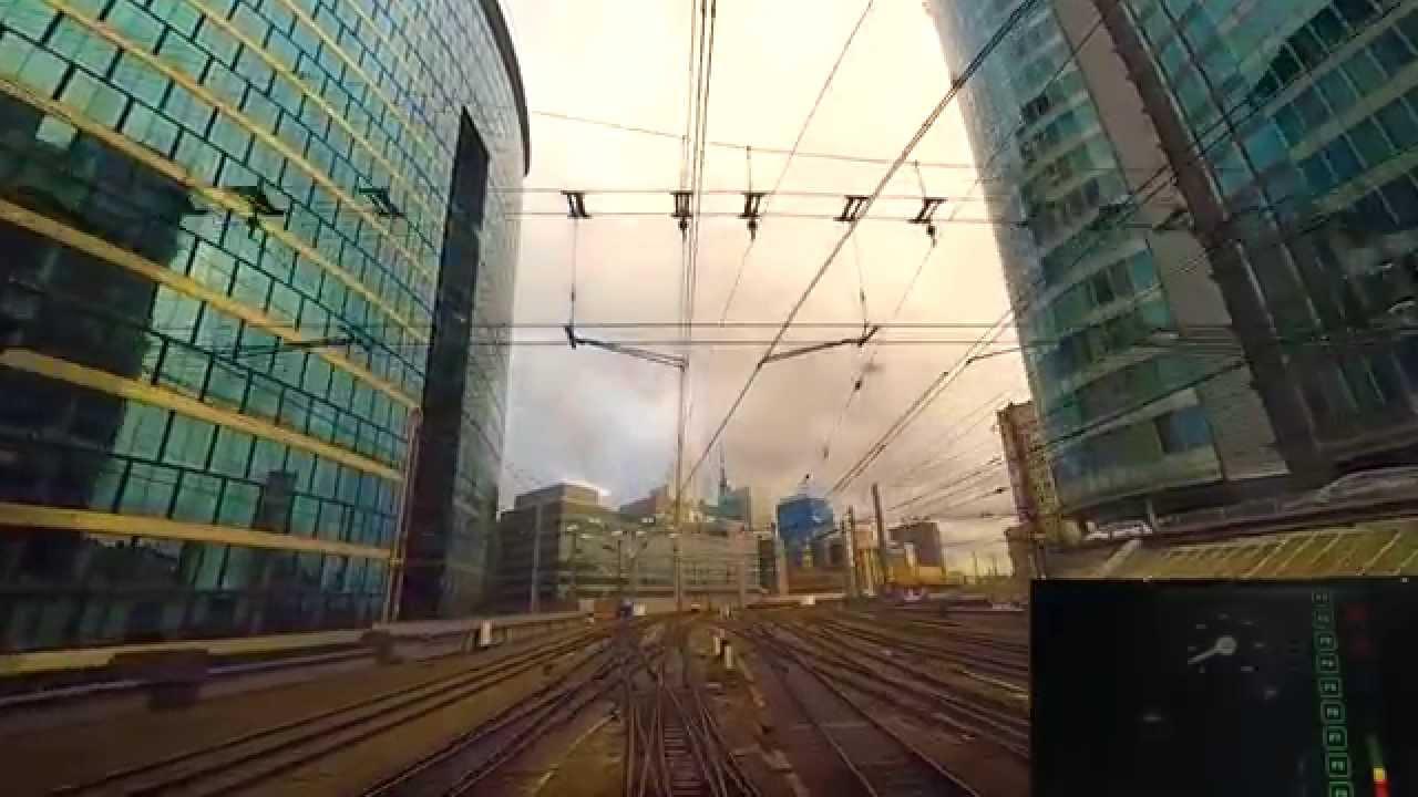 Drivers Eye View TGV Thalys Brussels – Amsterdam 2015