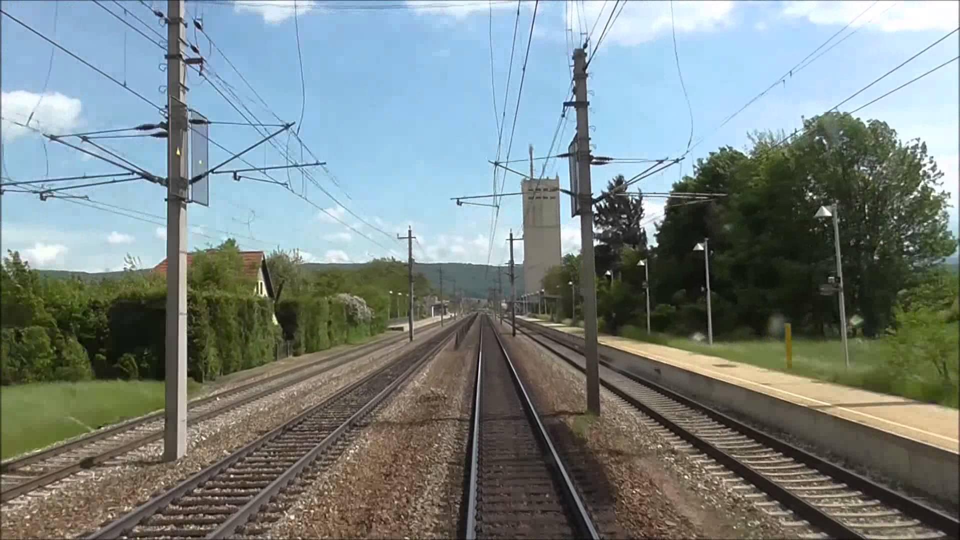 [HD] Führerstandsmitfahrt LINZ – WIEN
