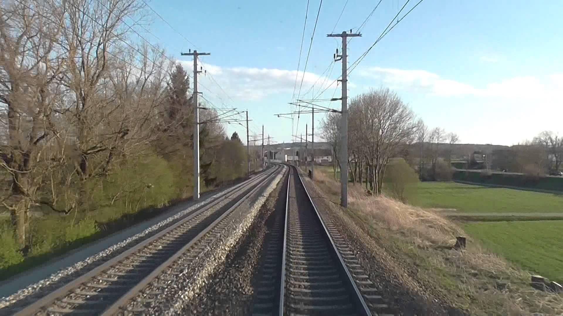 [HD] Führerstandsmitfahrt PASSAU-LINZ