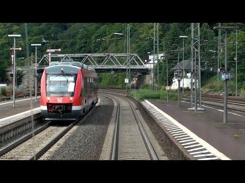 Führerstandsmitfahrt Gießen – Siegen Hbf | Dillstrecke | Train cab ride