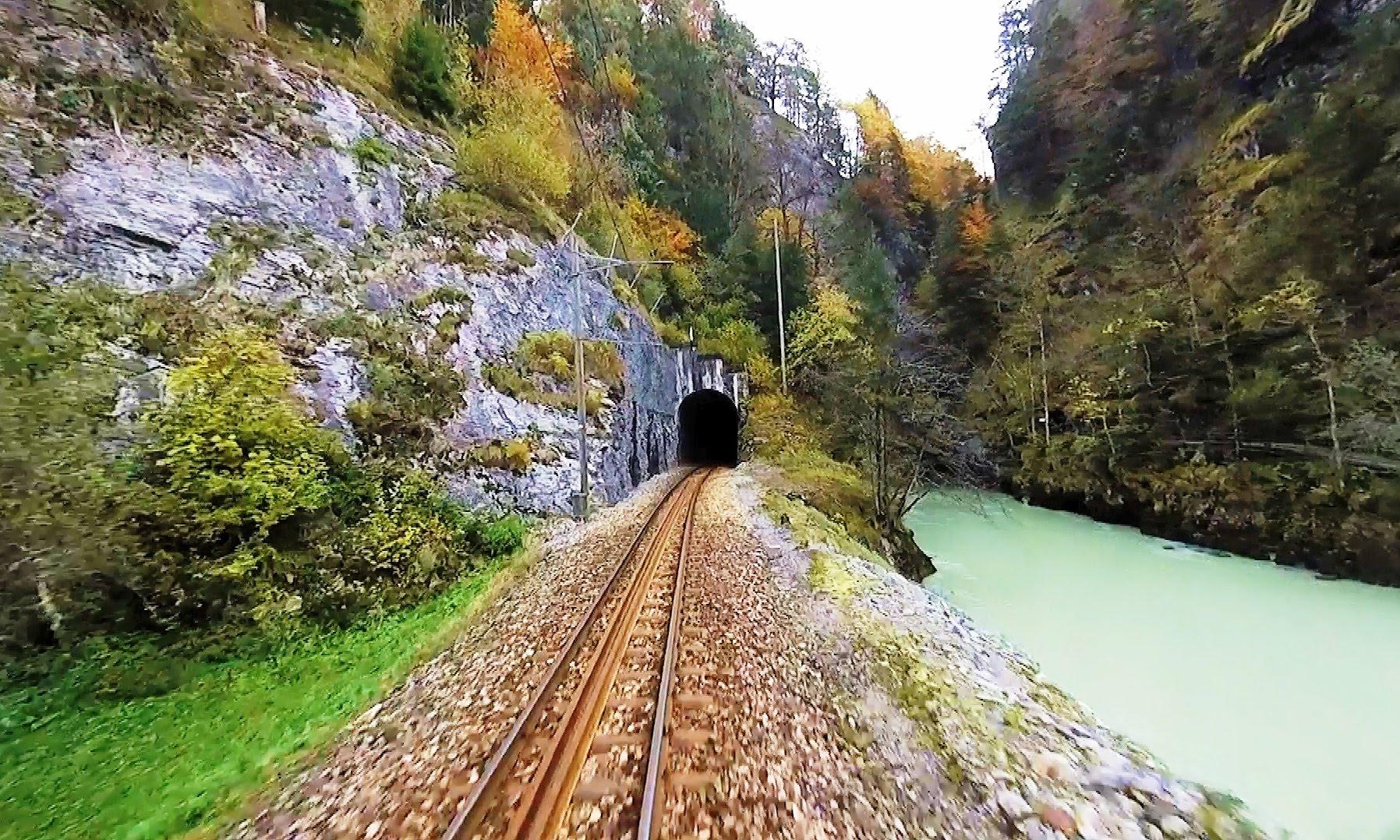 Driver's Eye View – Meiringen to Innertkirchen (Switzerland)