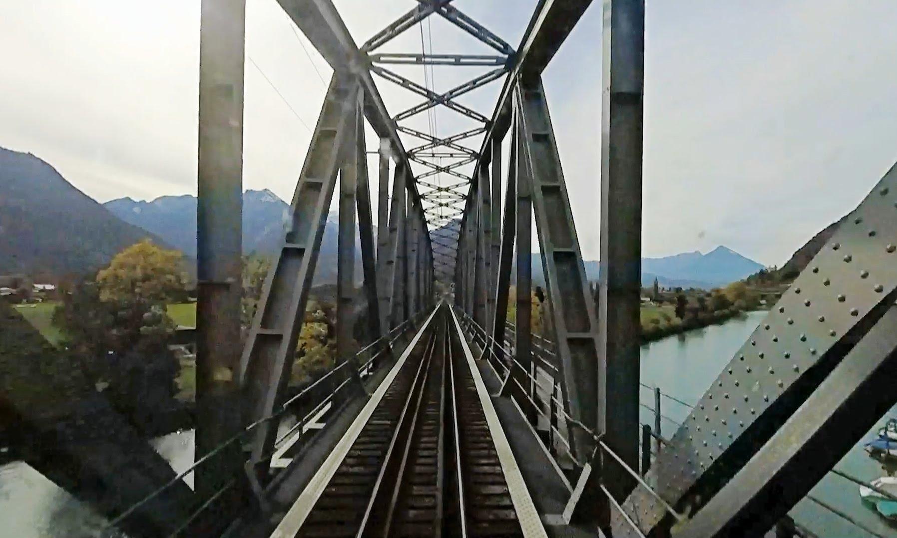 Driver's Eye View – Meiringen to Interlaken (Switzerland)