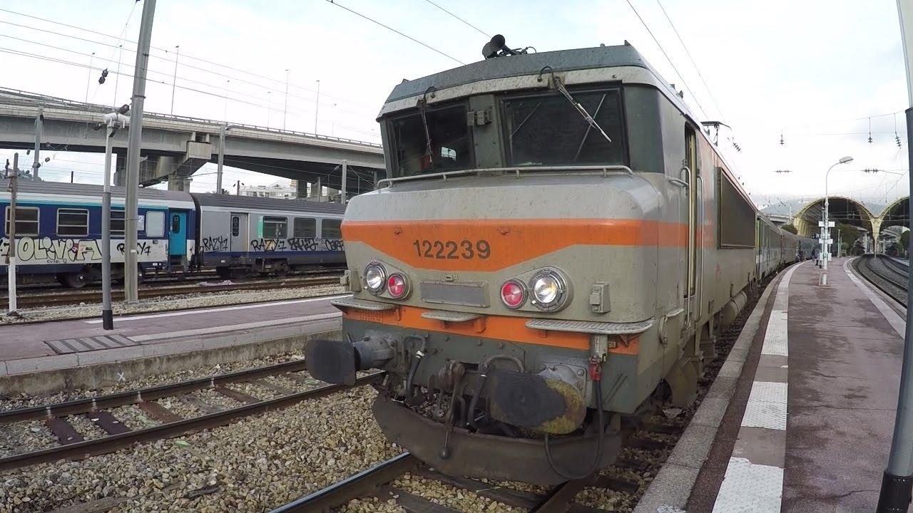 CAB Ride Train TEOZ 4768 Nice Marseille