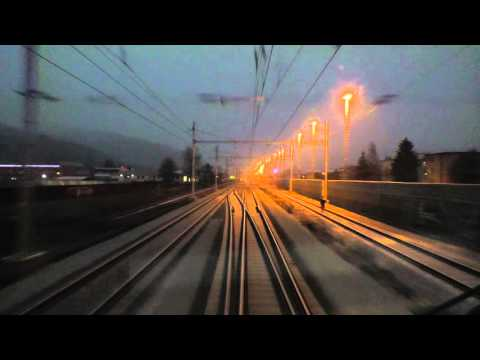 Cabview z lokomotivy 151 020 ČD