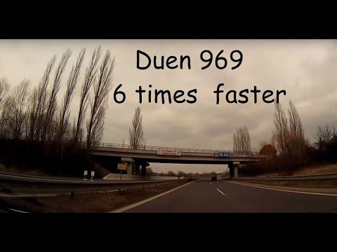 Czech Republic (78.) 6 times faster – Lány – Beroun – Příbram – Dobříš – Praha